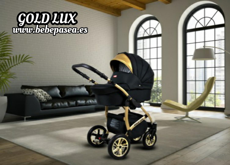 carro de bebé GOLD LUX - ORO