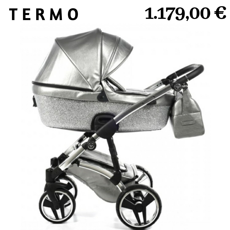 carrito de bebe JUNAMA termo GLITTER